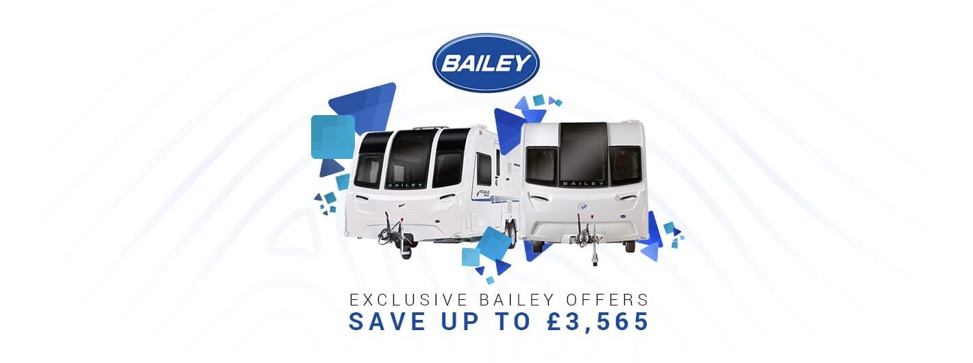 Exclusive Bailey Caravan Offers