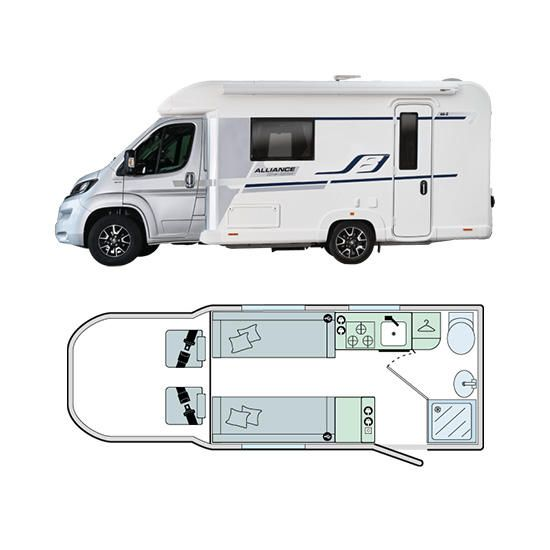 Bailey Motorhomes Alliance Silver Edition 66-2