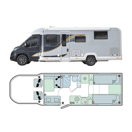 Bailey Motorhomes Autograph 79-4T