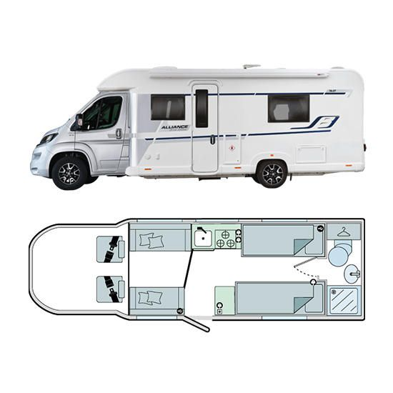 Bailey Motorhomes Alliance Silver Edition 76-2T