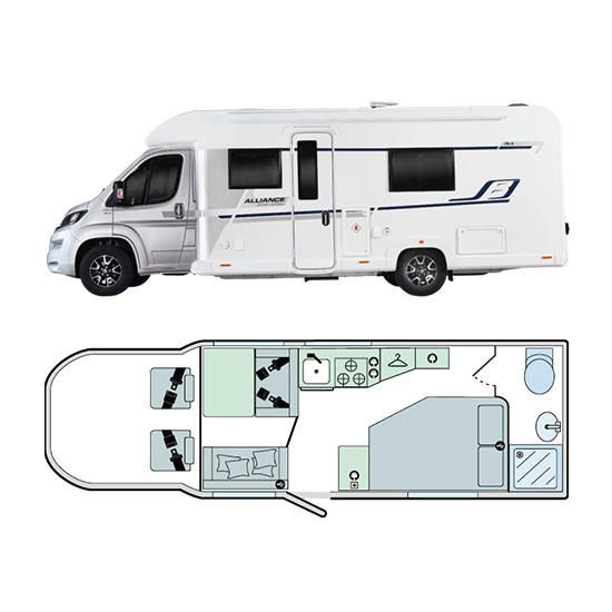 Bailey Motorhomes Alliance Silver Edition 76-4