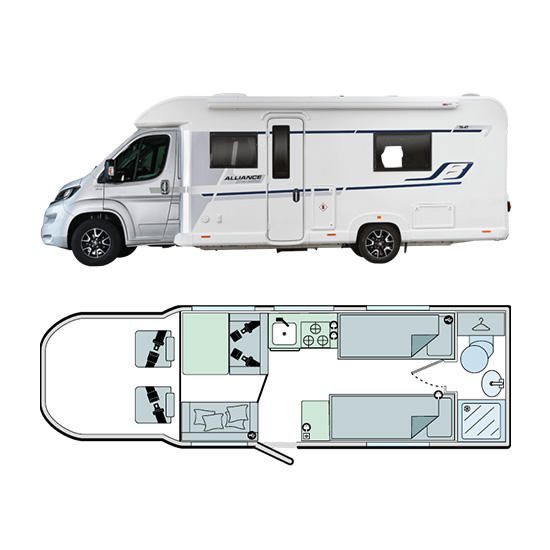 Bailey Motorhomes Alliance Silver Edition 76-4T