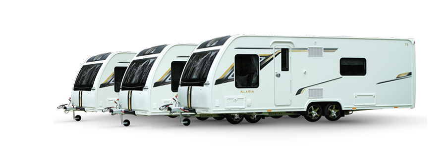 View our Alaria Caravans