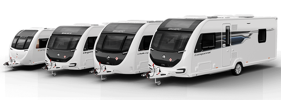View our Swift Caravans